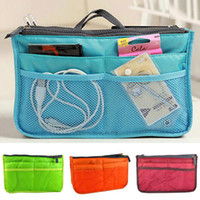 Wholesale kevinstyle New Girls Womens Nylon Bag PA02 Cosmetic Storage Organizer Makeup Bags Mp3 Phone