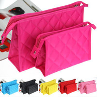 Wholesale utility New Brand Nylon Woman s Beauty Cosmetic Cases Organizer Girl s Makeup Bags PA16