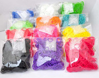 12-14 Years Multicolor Silicone 5set lot Selling all kinds of rainbow looms ( light, flash, color, color mixing ) Christmas gift! Rainbow Loom chain! Rubber band!