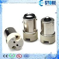 Flame retardant PBT  adapter mr16 - BA15S to MR16 adapter MR16 to BA15S converter BA15S male to MR16 female s