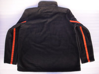 Wholesale man s Classic Chest Stripe Fleece Pullover VM motorcycle Sweatshirt
