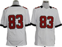 Wholesale 83 JacksonFootball Jerseys Hot Sale Buccaneer Team White Sportswears Mens Football Jersey College Football Sports Uniforms Size to
