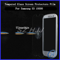 For Samsung S3 S4 Note 2 3 Screen Protector Tempered Glass F...