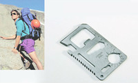 Wholesale Multi Pocket Tools in Hunting Survival Camping Military Credit Card Knife