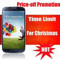 Wholesale Time limited Christmas Promotion for i9500 S4 Android Cell Phone Inch Android SC6820 Ghz Wifi N7100 i9300 Note Mah Free Ship