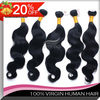 Wholesale 20 Off Brazilian Virgin Human Hair Weave Body Wave Mix Length Dyeable Bleachable Queen Hair Bundles Fast Shippment