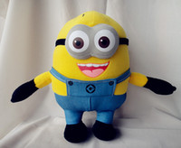 Wholesale D Talking Despicable ME Movie seconds recording Soft Stuffed Toy Minion Doll Jorge Stewart Dave cm EMS L