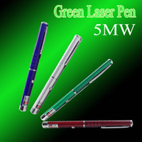 Colorful 5mw 532 nm Green laser pen laser pointer pen beam P...