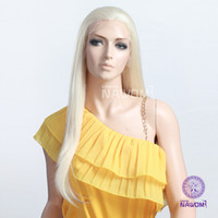 blonde lace front wigs - Beautiful long blonde staight lace front wig HAIR new style H9282Z