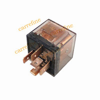 AUTO automobile coil - Automobile Transparent Pins A relay coil voltage DC12V car Relay