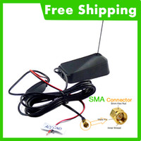 active tv antenna - Car SMA Active TV antenna with built in amplifier for digital TV