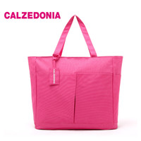 Wholesale Italy calzedonia fashion rose red waterproof beach bag Shopping Bags large bag two sets of PIP Tote
