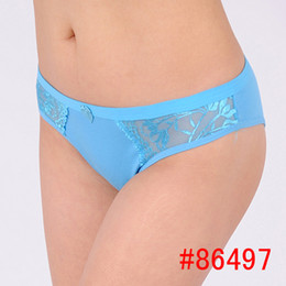 Wholesale cotton panties women s lace briefs sexy underwear lace cotton panties