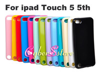 Wholesale Mix Color Solid Color Candy Soft TPU Back Cover Case Cover For ipod touch th