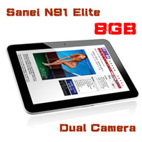 "9 inch Single Core Android 4.0 Android 4.0 china cheap tablets 9"" Sanei N91 Allwinner A13 1.2GHz 2.0MP Dual Camera WiFi Capacitive Screen Android tablet pc JBD-9-4"