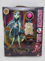 Big Kids big beautiful dolls - Newest fashion hot Kid Monster High figures Dolls beautiful set children girl toy gift model