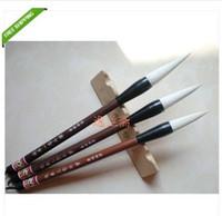 Wholesale 3pcs Goat hair Chinese category calligraphy brush pen writing writing brush