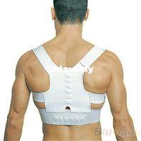 Back Support   Wholesale - Min. $16 Men Women Magnetic Posture Support Corrector Back Belt Band Pain Feel Young Belt Brace Shoulder for Sport Safety