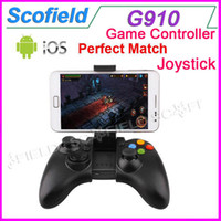 Wholesale G910 Joystick Bluetooth Game Controller Gamepad for Android iOS Cell Phone Tablet PC Mini PC TV BOX