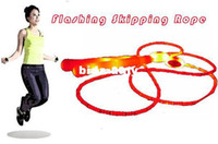 Wholesale LED flashing skipping rope shining jump rope m best for losing weight Drop shipping