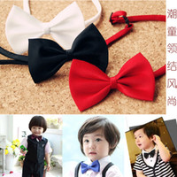 Wholesale Children s Ties Hot sale fashion designs children ties necktie choker cravat boys Printing bow tie baby bow