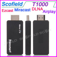 Wholesale Tronsmart WIFI Display T1000 Mirror2TV Wireless Display Miracast DLNA EZCAST for iPhone IOS FOR Amazon Kindle Fire HDX Cell Phone