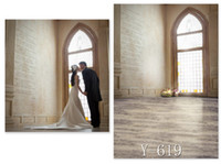 Wholesale Y CM New arrival wedding theme palace cloth photography background Tall door design pattern