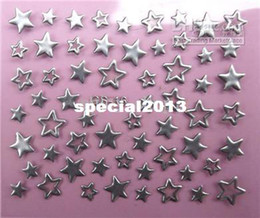 Wholesale style nail sticker amp Decals French design individual package stamp nail art sticker sheets polyme