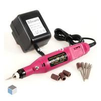 Wholesale V V Pen Shape Electric Nail Drill Machine Art Salon Manicure File Polish Tool Bits Bran