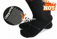 Cheap Wholesale - Tourmaline Far Infrared Therapy Socks One Pair Free Shipping, Tourmaline Socks Massager Black Feet M