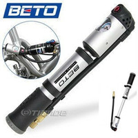 Wholesale NEW BETO Cycling Bike Bicycle Pump Double cylinder PSI Pump BETO mp cm