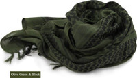 arab scarf - HOT Hunting Military Windproof Shemagh Tactical Desert ARAB Scarves Hijabs Scarf Cotton