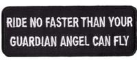 achat en gros de gros patches drôles de fer-Ride No Fast Fit Broderie brodée de qualité Vest Patch Patch IRON ON / SEW ON Badge Rock Punk Badge Vente en gros Livraison gratuite