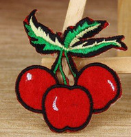 band cherry - Three cherry Punk Rockabilly music band Embroidered Iron on Patch Dropship
