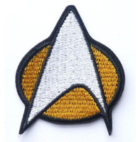 Wholesale STAR TREK Star Fleet Iron On Sew On Patch Tshirt TRANSFER MOTIF APPLIQUE Rock Punk Badge
