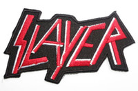 band slayer - SLAYER Music Band Iron On Sew On Patch Tshirt TRANSFER MOTIF APPLIQUE Rock Punk Badge