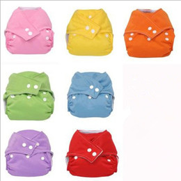 Wholesale Newest Adjustable S M L Waterproof Reusable Washable Thick Winter style Baby Nappy Diapers Colors Inserts