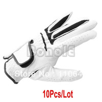 Wholesale Hot Sale New White Dura Feel Men s Golf Glove For The Left Hand Tour Preferred Size M L TK0803