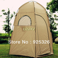 Wholesale New High Quality UV protection waterproof Large Outdoor Bath Change Clothes Tent shower Fishing Mobile Toilet Tents