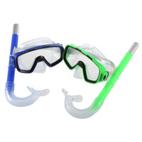 OL098   High Quality Swimming Scuba Anti-Fog Goggles Mask & Snorkel Set