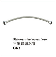 Wholesale Stainless steel explosion proof plumbing hose toilet knitted tube single cold faucet water heater induction pipe