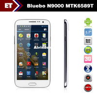 Cheap 5.7 inch Bluebo N9000 Quad Core Smartphone MTK6589T 1.5GHz Android 4.2 Dual Camera 12.0MP