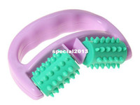 beauty color wheel - New Cellulite Control Roller Massager Thigh Body Health Beauty Hand held Wheel Random color