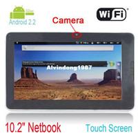 Wholesale 2012 hot inch android tablet pc with wifi camera