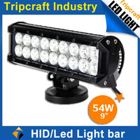 Flood Beam used trucks - TOP QUALITY W inch LED LIGHT BAR used ATVs SUV truck Fork lift trains boat bus and tanks