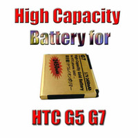 Wholesale Newest Factory Price High Capacity Battery Gold Replacement Battery For HTC A8181 G5 Google Nexus One G7 Mah waitingyou