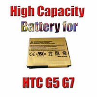 Wholesale Newest Free Newest Battery High Capacity Gold Replacement Battery For HTC A8181 G5 Google Nexus One G7 Mah waitingyou