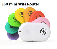 Wireless Soho VPN 360 brand Mini Portable Wifi Router USB 2.0 Built-in antenna ease to use for Laptop & Mobile Phone