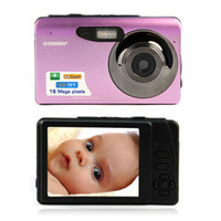 "Pink  2x - 7x 2'' - 3'' Hot Sale New 3"" TFT LCD 16MP HD 720P Digital Video Camcorder Camera 8x Digital ZOOM DV Pink Red freeshipping & Wholesales"