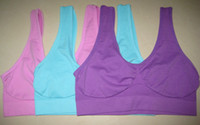 Wholesale 3pcs Hot Fashion Women Colors Ahh Genie and Seamless Bra Yoga amp Leisure Vest Brand Bras
